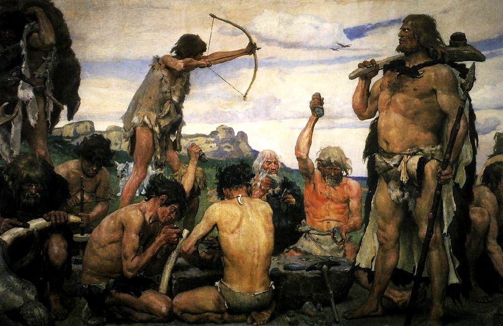 Trading and bartering during the Stone Age